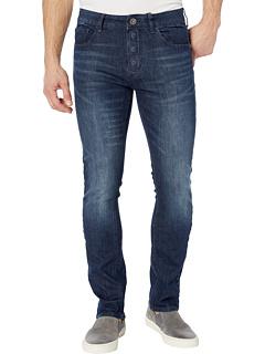 Адаптивные узкие прямые джинсы с застежкой на магнитах и липучками Micro Velcro® в цвете Vouvant Dark Seven7