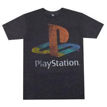 Big & Tall Bioworld Merchandise Sony - Футболка с логотипом Play Station BIOWORLD