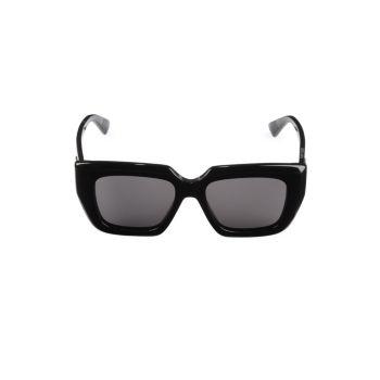 Квадратные солнцезащитные очки 52 мм Bottega Veneta