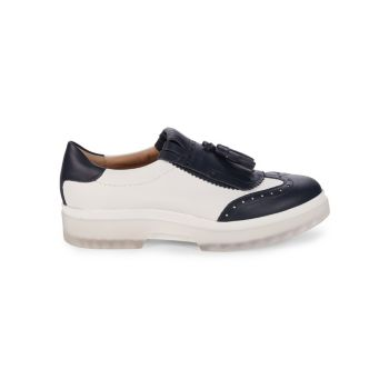 Myluse Leather Loafer Geox