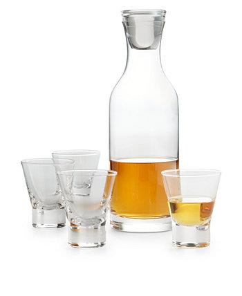 5-шт. Набор графина для бутылок и рюмки, созданный для Macy's Hotel Collection