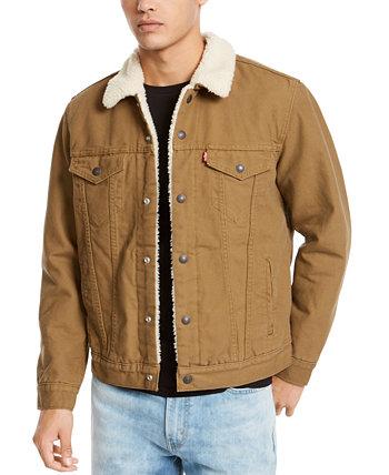 Мужская куртка Trucker из плотной шерсти Levi's®
