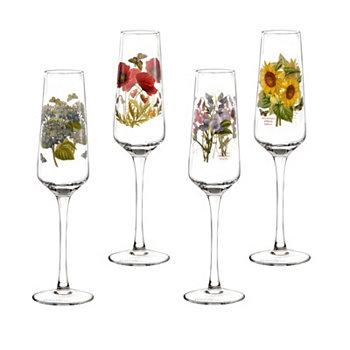 Фужеры для шампанского Botanic Garden, набор из 4 шт. Portmeirion