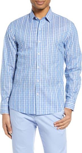 Рубашка на пуговицах Sabin Fil Coupé Zachary Prell