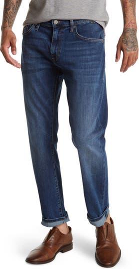 Темные матовые джинсы New York Marcus Mavi