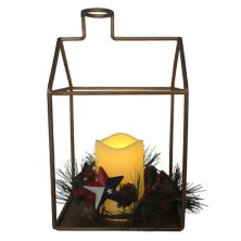 St. Nicholas Square® Texas LED Lantern Table Decor St. Nicholas Square