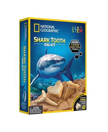 Набор для копания зубов акулы National Geographic National Geographic