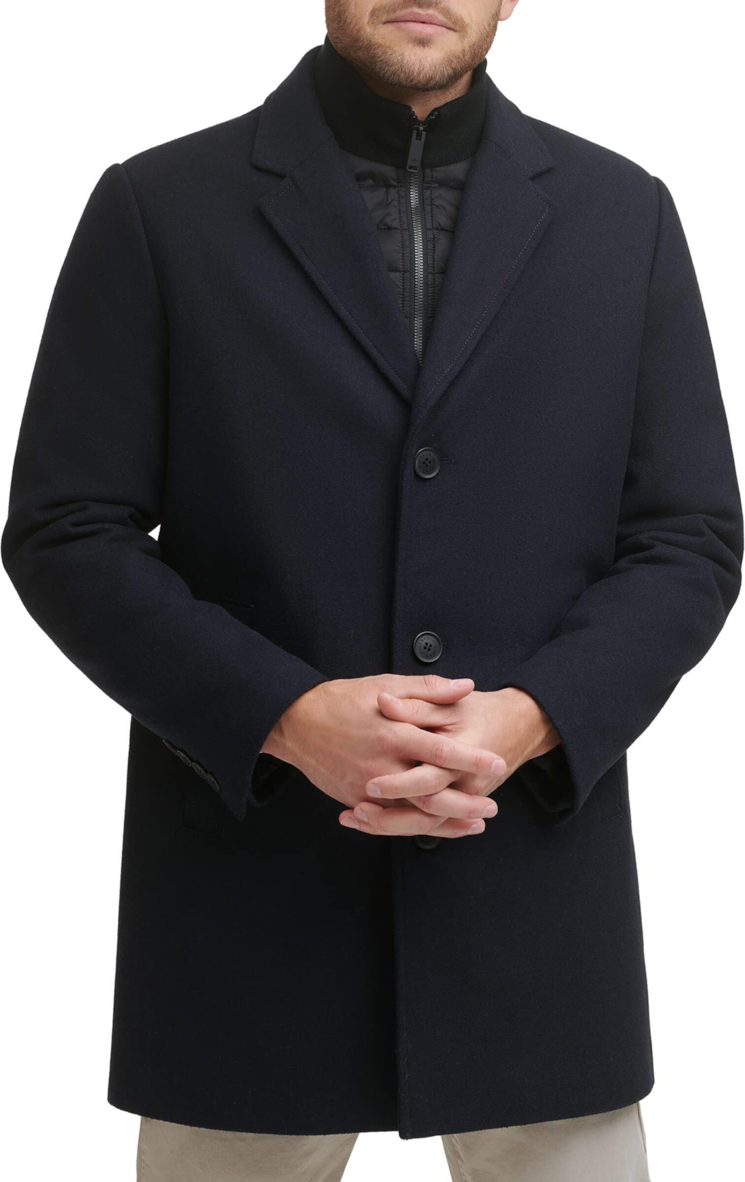 Верхнее пальто из смесовой шерсти Henry Dockers