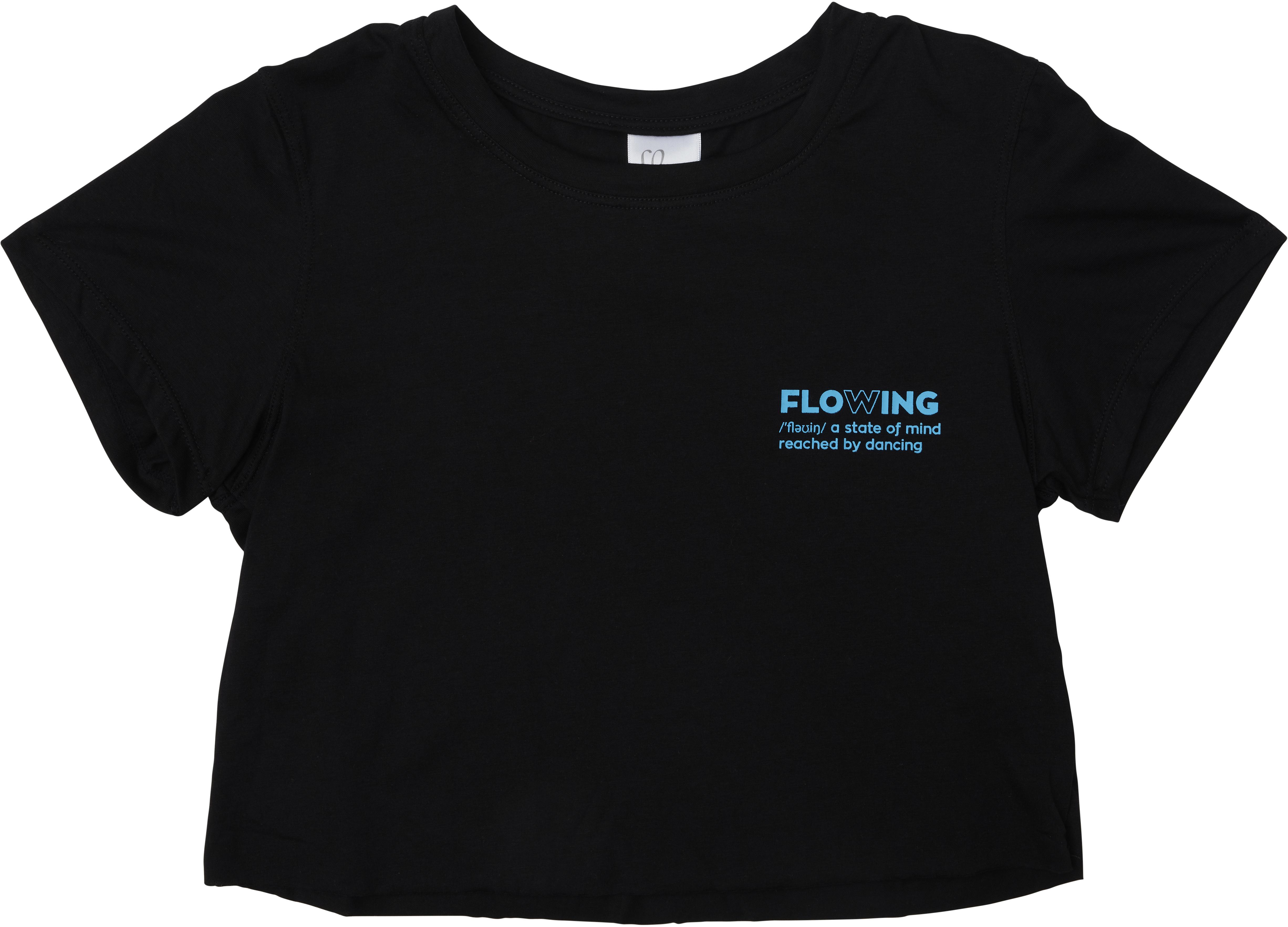 Укороченная футболка с необработанными краями Alba (для детей младшего и школьного возраста) Flo Active