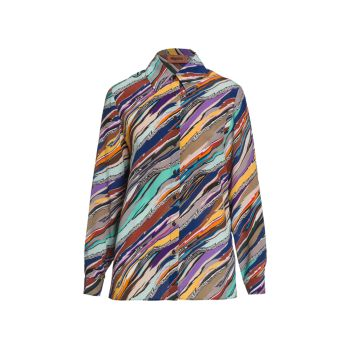 Silk Long Sleeve Shirt Missoni