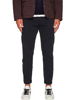 Узкие эластичные хлопковые брюки-карго Slim Fit Eleventy