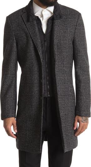 Wool Bib Overcoat English Laundry