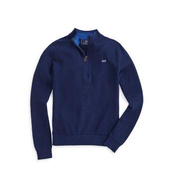 Little Boy's & amp; Классический свитер на молнии для мальчиков Vineyard Vines