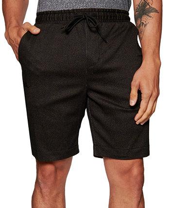 Мужские облегающие стрейч-шорты с текстурированным принтом в полоску 9 дюймов на кулиске Tallia