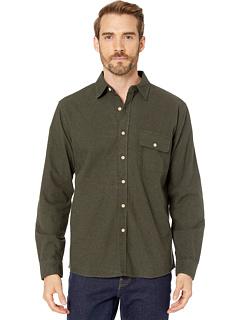 Рубашка на пуговицах из замши THE NORMAL BRAND