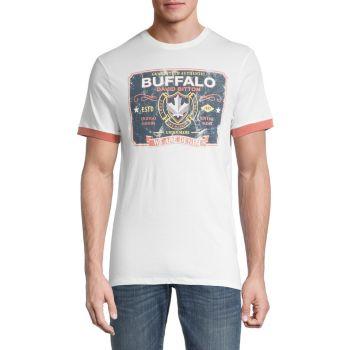 Футболка с винтажным логотипом Tadope Buffalo David Bitton
