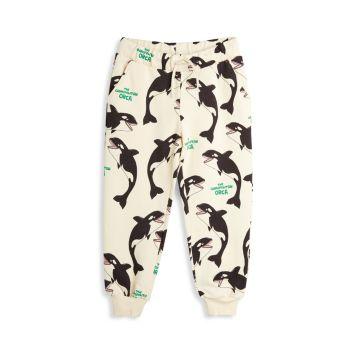 Little Boy's & amp; Спортивные штаны Orca для мальчиков с кулиской Mini rodini