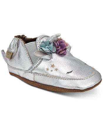 Обувь для маленьких девочек Uma Unicorn с мягкой подошвой Robeez