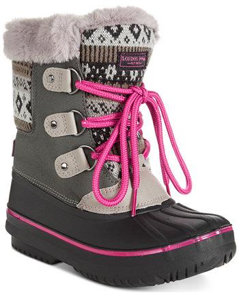 Снежные сапоги для маленьких девочек London Fog