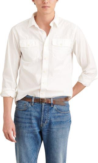 Полевая рубашка на пуговицах ALEX MILL