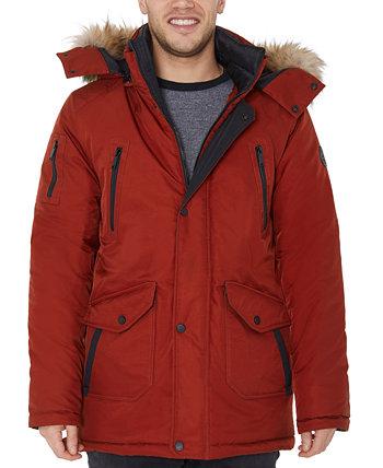 Мужская куртка-парка с оторочкой из искусственного меха Halifax