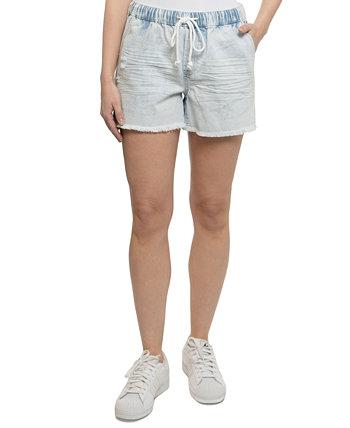 Юниорские шорты-бойфренды без застежки Vanilla Star