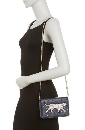 кошелек на цепочке с аппликацией Kate Spade New York