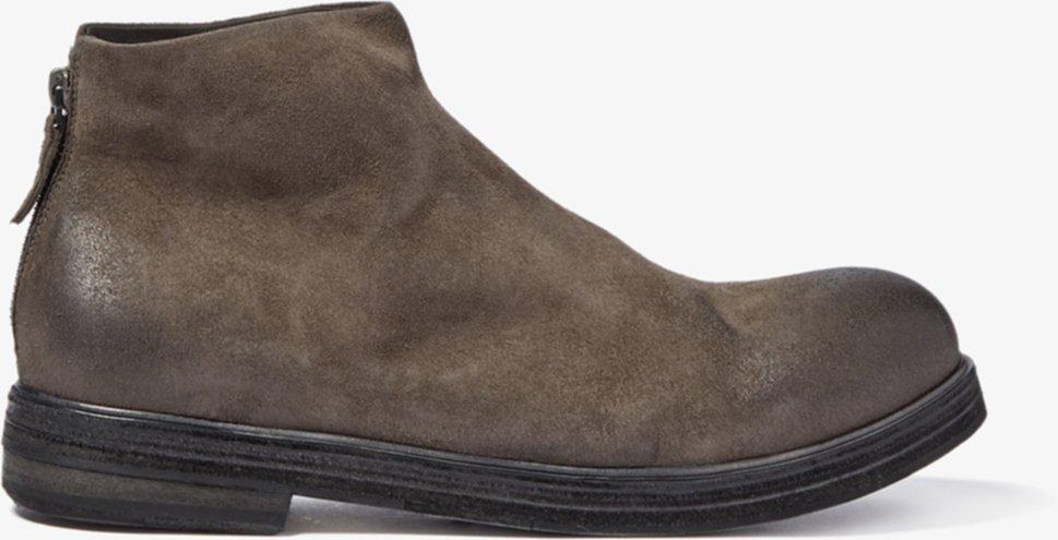 Классические ботинки на молнии сзади Marsell