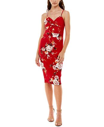 Юниорское платье-комбинация Peekaboo с цветочным принтом Almost Famous