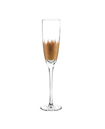 Лавовые флейты, набор из 4 Qualia Glass