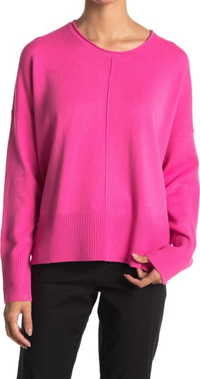 Scoop Neck Long Sleeve Sweater French Connection