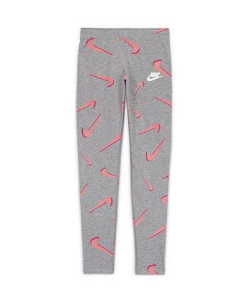 Спортивная одежда для больших девочек Favorites Леггинсы с принтом Nike