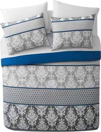 Комплект одеял Beckham Bed-in-a-Bag Blue Damask - полный VCNY HOME