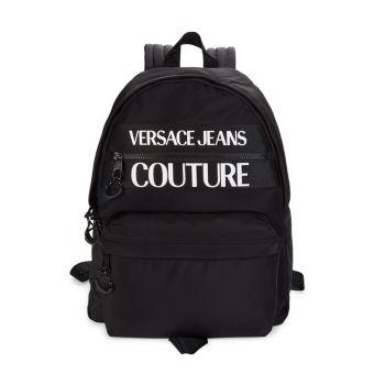 Рюкзак с логотипом Versace Jeans Couture