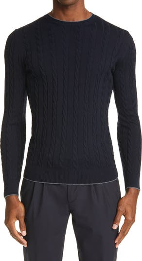 Cable Wool Sweater Eleventy