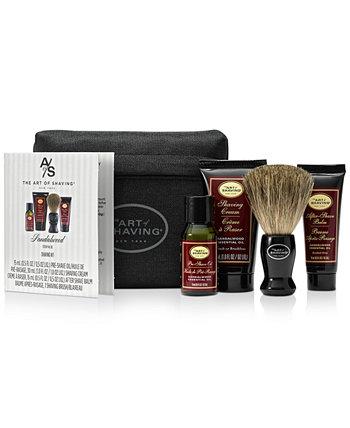 Мужская 5-шт. Стартовый набор сандалового дерева Art of Shaving