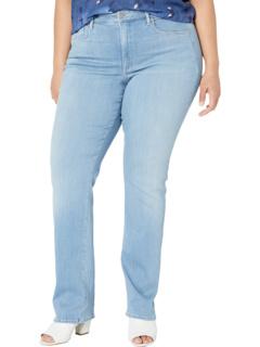Прямые джинсы размера Мэрилин в тропикале NYDJ Plus Size