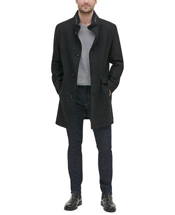 Мужская однобортная куртка из твила Kenneth Cole New York