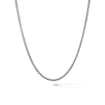 Chain Sterling Silver Box Chain Necklace David Yurman