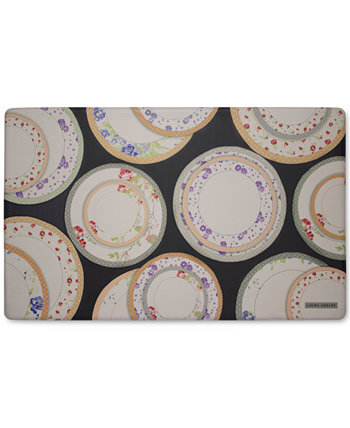 Чайные тарелки, гелеобразующий против усталости, кухонный коврик 20 x 32 дюйма Laura Ashley