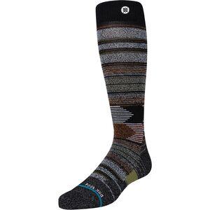 Forest Cover Ski Sock Stance