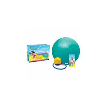 Eco Exercise Ball Kit with Poster - Medium Higherhealth