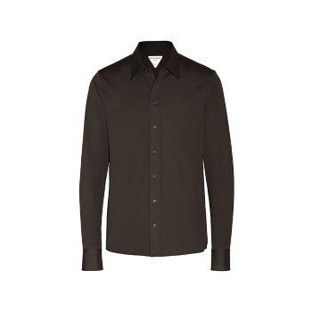 Компактная хлопковая спортивная рубашка Bottega Veneta