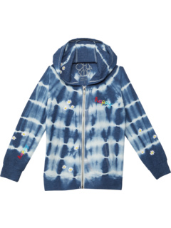 RPET Cozy Knit Long Sleeve Zip-Up Hoodie (Little Kids/Big Kids) Chaser Kids