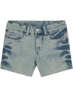 Bleached Side Vent Shorts (Big Kids) Hudson Kids