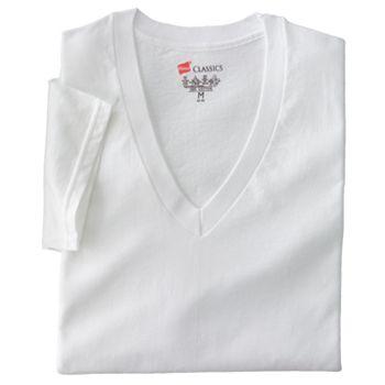Big & Tall Hanes Ultimate®, 3 пары футболок Fresh IQ с V-образным вырезом Hanes