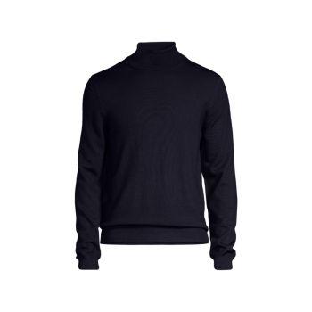Шерстяной свитер с воротником под горло BOGLIOLI