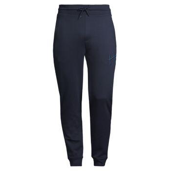 Спортивные брюки-джоггеры Dartini с кулиской HUGO