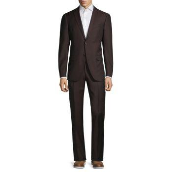 Шерстяной костюм стандартного кроя John Varvatos Star U.S.A.