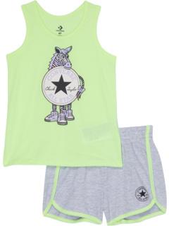 Комплект топа и шорт Zebra (для малышей) Converse Kids